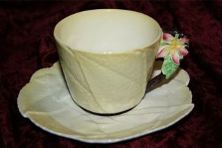 carlton ware australian apple blossom tea cup saucer