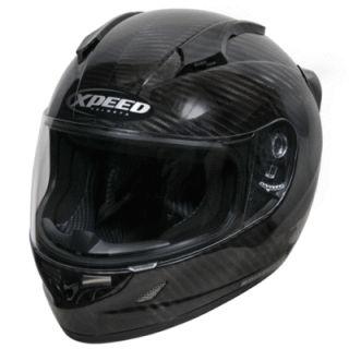 XCF3000 Carbon Fiber Full Face Motorcycle Sportbike Helmet XXL 2XL 2X