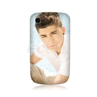 Zayn Malik One Direction 1D Back Case Cover for Blackberry Curve 8520
