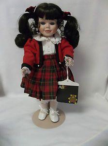 Carol Anne Collection Amber Goebel by Karen Kennedy Porcelain Doll
