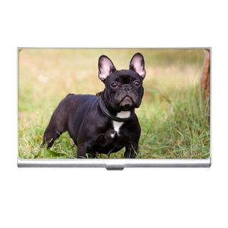 French Bulldog Dog Puppies Credit Business Card Holder