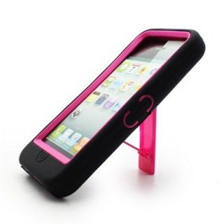 Apple iPhone 5 Hard Silicone Hybrid Case Snap on Phone Cover w