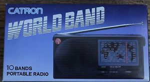 Catron XR 410 10 Bands Portable Radio Shortwave LW MW FM World Band