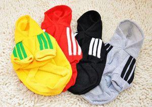 Pets Puppy Dog Cat Coat Apparel Clothes Hoodies Sweater T Shirt Sz s M