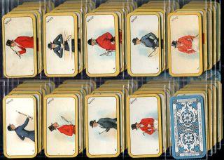 Tobacco Card Set Carreras Greyhound Racing Game Card Game Std 1926