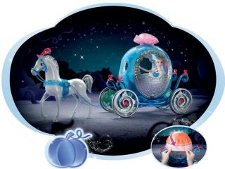 New Disney Princess Cinderella Transforming Pumpkin Carriage