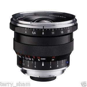 New Carl Zeiss Distagon T 18mm F4 ZM Wide Angle Lens Black Leica M M9