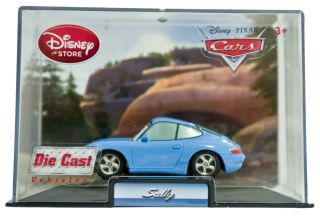 Disney Pixar Cars 1 Sally Die Cast Car Collector Case