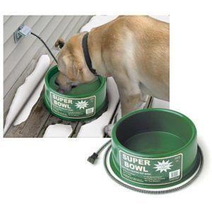 Premium Heated Dog Cat Water Bowl 1 Gallon New