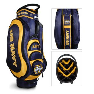 Licensed Team Golf US Navy Medalist Golf Cart Bag Bonus
