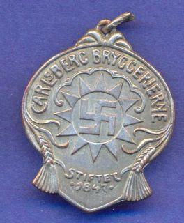 Medal Carlsberg Brewery Elephant Swastika H154
