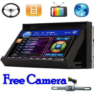 Sale Crazy Indash HD 7Car Stereo CD DVD Player with Radio iPod TV BT