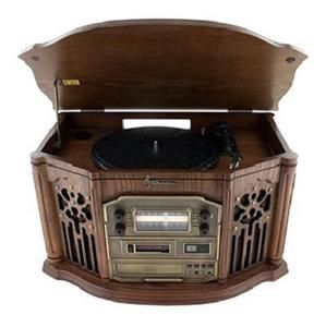 New Emerson Record Player Nostalgia Home Stereo System