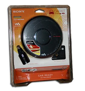 Sony D EJ017CK CD Player Radio Walkman Car Kit New 2011