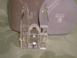 Swarovski Crystal City Cathedral Mint in Box