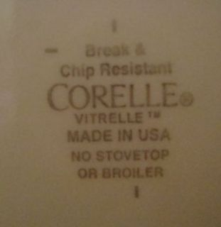 Corelle Vitrelle Floral Cascade Pattern Dinner Plates Discontinued