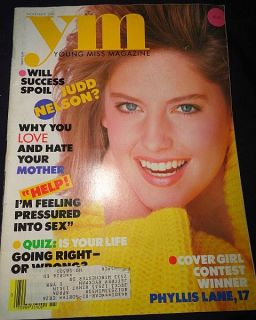 Vintage Teen Magazine YM 11 1985 Tiffany Chin Phyllis Lane 80s Fashion