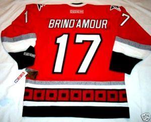 Rod BrindAmour Size XXL Carolina Hurricanes CCM 550 Hockey Jersey