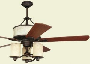 New 52 Candle Style Ceiling Fan Wall Remote Included