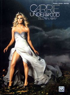 CARRIE UNDERWOOD Blown Away Piano Vocal Guitar Chord Diagrams 14 Great