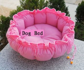 Colors Pink Pet Puppy Dog Cat Warm Pet Bed Sleeping Bag Cute Cushion