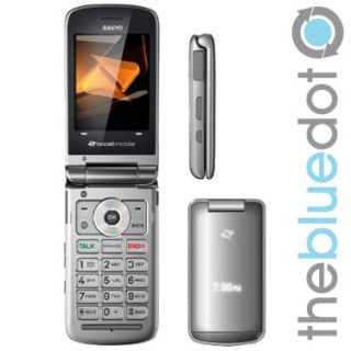 Sanyo SCP 3810 Mirror Boost Mobile Phone Used Fair Condition