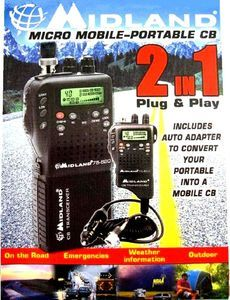 Channel Hand Held Micro CB Radio with Weather Alert Brand New