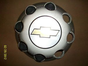 Chevrolet HD Truck Hub Cover Lug Nuts Center Cap