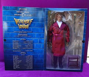 Sideshow Werewolf Of London, Wolfman 12 1/6 Figure FACTORY SEALED