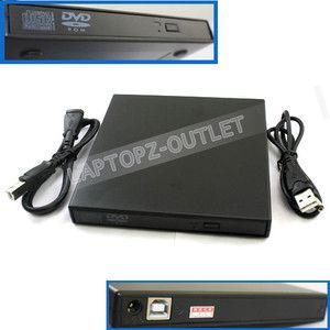 External DVD Combo CD RW Burner Drive CD±RW DVD ROM Black