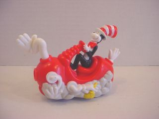 Dr Seuss Cat in The Hat Burger King Wind Up Toy Figure Cake Topper