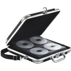Vaultz CD DVD Wallet CAse Holder With Lock Holds 128 Capacity organize