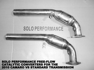 LS3 SS Solo Perofmrnace High Flow Catalytic Converters Cats M6