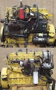 Engine Good Running Caterpillar 3126 Turbo 6 Cylinder Diesel s N