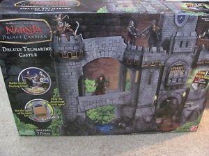 Brand New Narnia Prince Caspian Deluxe Telmarine Castle