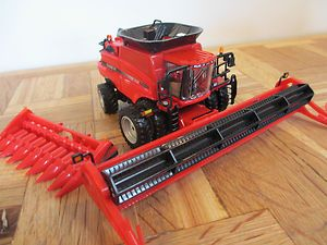64 Ertl Farm Toy CaseIH 6088 Authentics Series Combine NIP