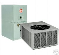 Ton Central Air Conditioning Unit Heat Pump System