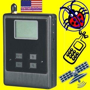 Cell Phone GPS Tracking Device Detector Digital RF Mobile Tracker TSCM