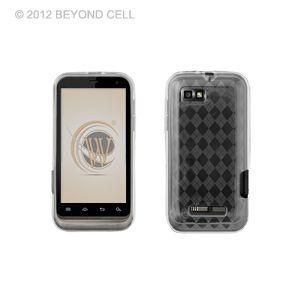 XT XT556 U s Cellular Clear TPU Diamond Accessory Case Cover
