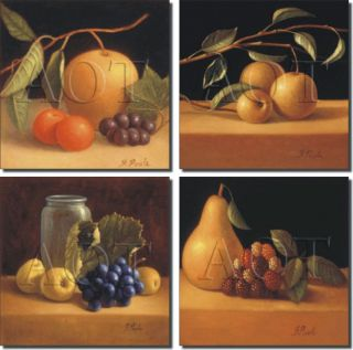 Poole Fruit Kitchen Decor Art Ceramic Accent Tiles