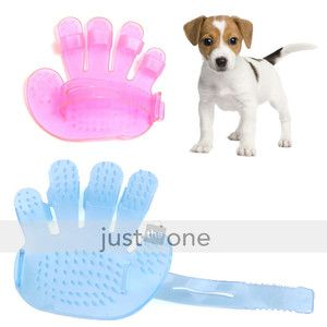 New Pet Dog Cat Grooming Bath Massage Rakes Brush Comb
