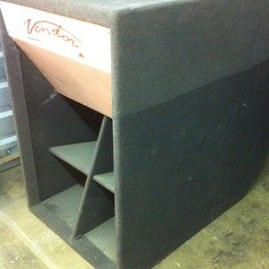 Cerwin Vega 18 Folded Horn subwoofer cabinets ONLY 2each/set
