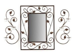 Brand New Catarina Mirror Wall Sconces Set of 3 Gift