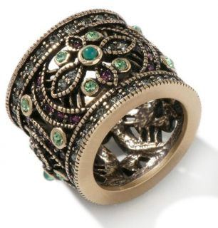 Heidi Daus Once Upon A Time Crystal Accented Band Ring Size 8 $ 89
