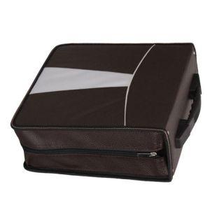 new 320 capacity cd dvd wallet case holder bag wh br