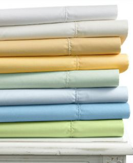 Martha Stewart 400t Chalk White Queen Fitted Sheet