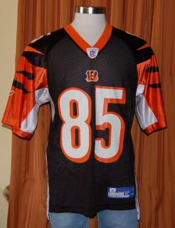 Cincinnati Bengals Chad Johnson 85 Reebok NFL Football Jersey Shirt