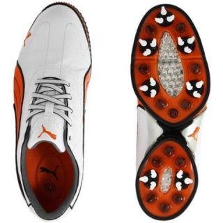 New Puma Cell Fusion Mens Golf Shoes Orange Multiple Sizes