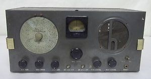 Vintage Sky Champion Hallicrafters Ham Radio Receiver for Parts or