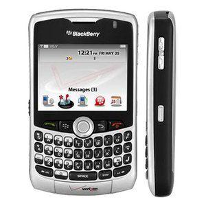 Blackberry 8330 Curve Verizon Camera GPS PDA Cell Phone 084316303513